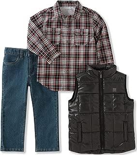 Calvin Klein Baby 3 Pc Vest Set Boys