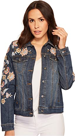 Stetson - Denim Jacket with Embroidery