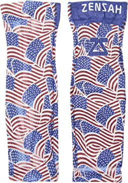 Zensah - Independence Print Compression Leg Sleeves