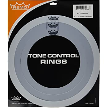 "RO-2346-00 4pc Remo Drum Tone Control Rings 12/"" 13/"" 14/"" 16/"" Rem-O-Ring Pack"