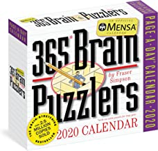 Mensa 365 Brain Puzzlers Page-A-Day Calendar 2020