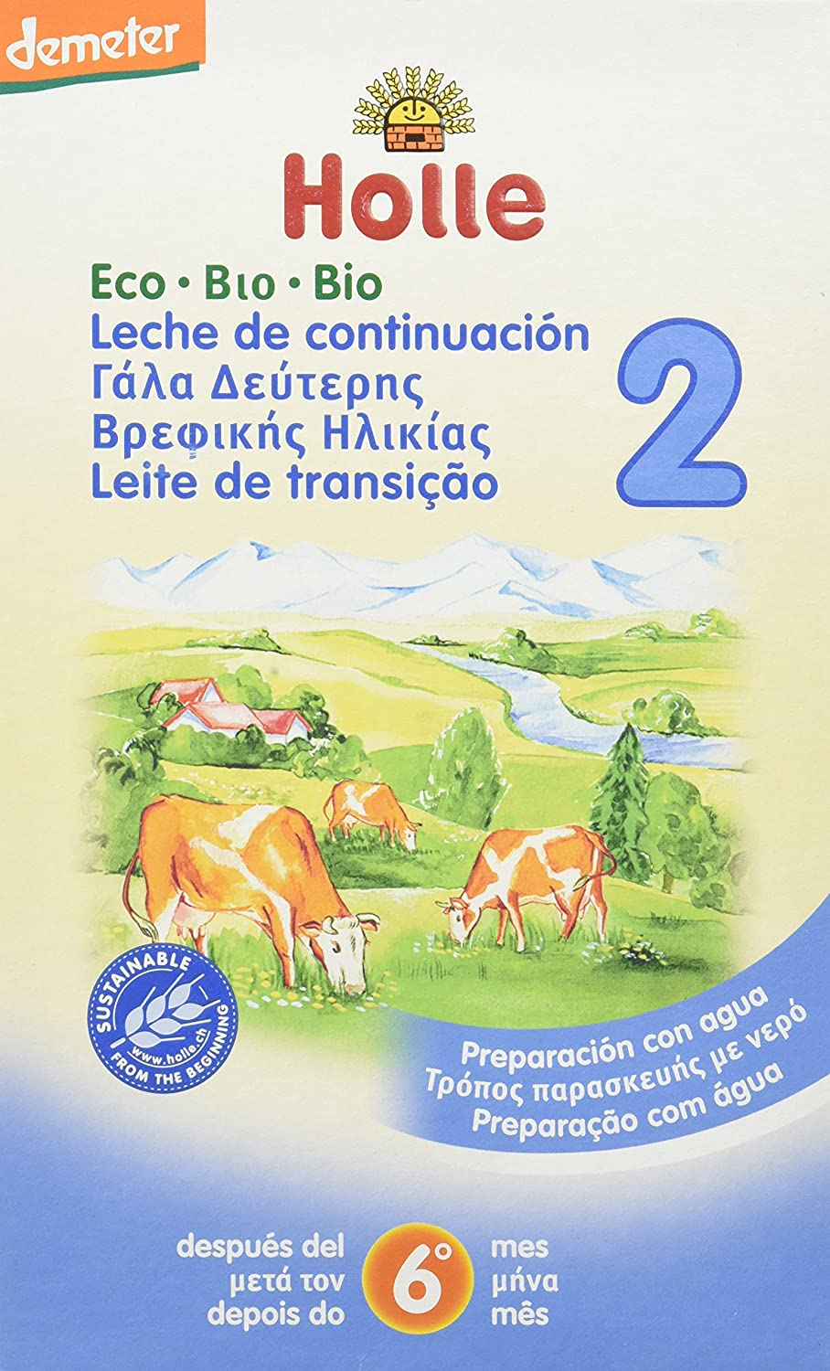 Holle Leche Holle, 600g