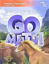 Houghton Mifflin Harcourt Go Math!: Practice Workbook Grade 6