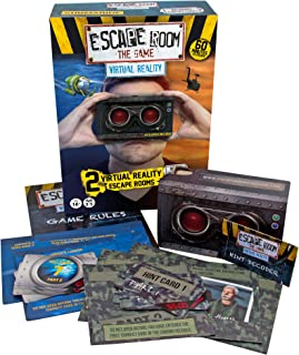 Identity Games Escape Room The Game: Virtual Reality Expansion Pack Edition - Two New VR Escape Room Adventures - with Viewer Glasses and Smartphone App