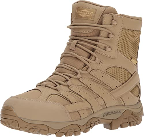 Merrell Moab 2 8  Waterproof J15841 Tactiques Militaires Militaires Militaires de Combat Bottes Hommes J15841 Coyote 9af