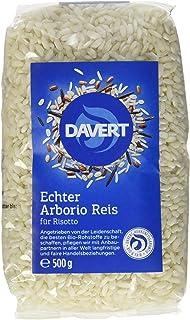 Davert Arborio Reis weiß für Risotto, 4er Pack 4x 500 g - Bio