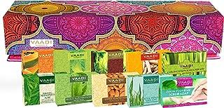 Gift Sets Handmade Herbal Soaps, Pack of 10 X 75 Grams - Vaadi Herbals (Assorted Soaps Gift Sets)