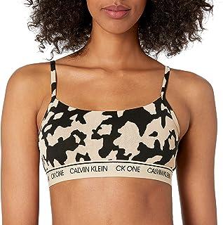 Calvin Klein womens CK One Cotton Unlined Bralette Bra