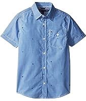 Tommy Hilfiger Kids - Charlie Short Sleeve Plaid Shirt (Big Kids)