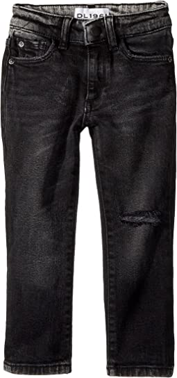 DL1961 Kids - Hawke Skinny Jeans in Argon (Toddler/Little Kids/Big Kids)