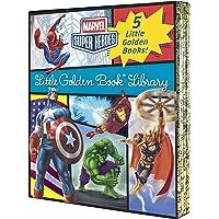 Various Marvel Little Golden Book Library