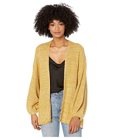 Rip Curl Warm Up Cardigan (Gold) Women