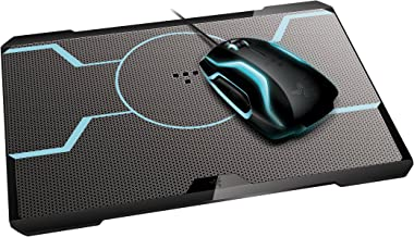 razer tron gaming mouse and mat