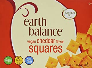 Earth Balance Vegan Cheddar Flavor Squares - 6 oz - 2 Pack