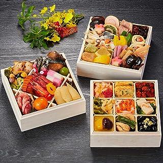 京都 しょうざん おせち料理 2021 千寿閣衣笠 三段重 45品 盛り付け済み 冷凍おせち 約2人前 お届け日:12月30日