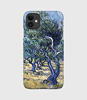 Campo di ulivi cover per iPhone 12mini, 12, 12 pro, 12 pro max, 11, 11 pro, 11 pro max, XS, X, X max, XR, SE, 7+, 8, 7, 6+...