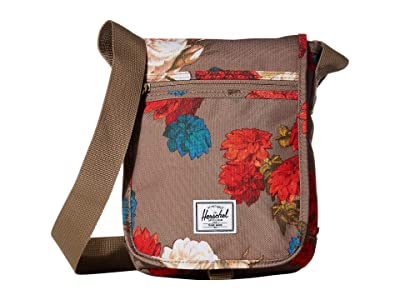 Herschel Supply Co. Lane Small (Vintage Floral Pine Bark) Messenger Bags