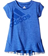 adidas Kids - Performance Melange Top (Toddler/Little Kids)