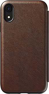 Nomad Tri-Folio - Rustic Brown Leather | iPhone XR