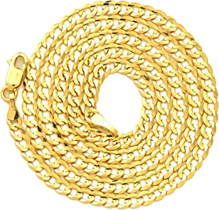 Best 9ct gold curb necklace Reviews