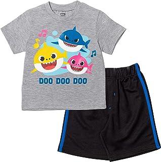 Baby Shark Short Sleeve T-Shirt & Shorts Set