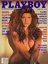 Playboy March 1991 Sport Illustrated Swimsuit Model Stephanie Seymour