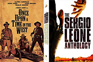 Sergio Leone Collection - Once Upon a Time in the West & The Anthology (A Fistful of Dollars, For a Few More Dollars, The Good, The Bad and the Ugly & Duck, You Sucker) 9-DVD Bundle