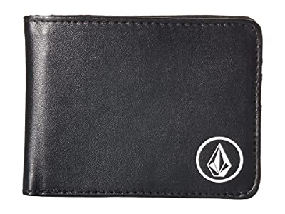 Volcom Corps Wallet (Black 2) Bill-fold Wallet
