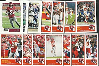 2019 Panini Score Football Kansas City Chiefs Team Set 14 Cards W/Drafted Rookies