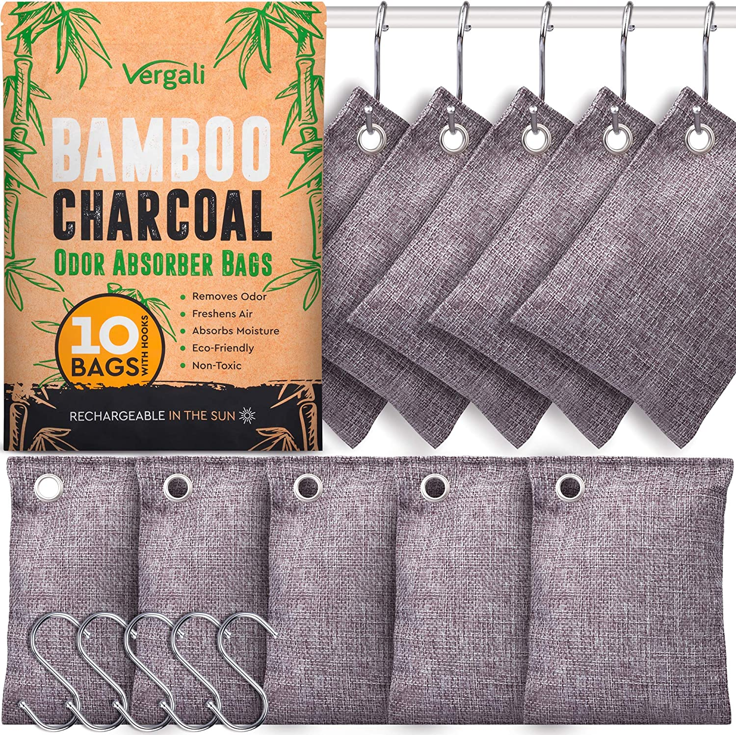 lowest price Vergali Charcoal Odor Absorbers Excellence