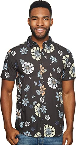 Quiksilver Short Sleeve Sunset Floral Woven