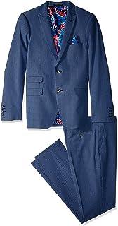 Paisley /& Gray Mens Slim Fit Flat Front Pindot Suit Separate Pant