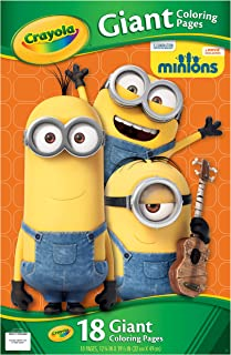 Crayola Giant Coloring Pages, Despicable Me