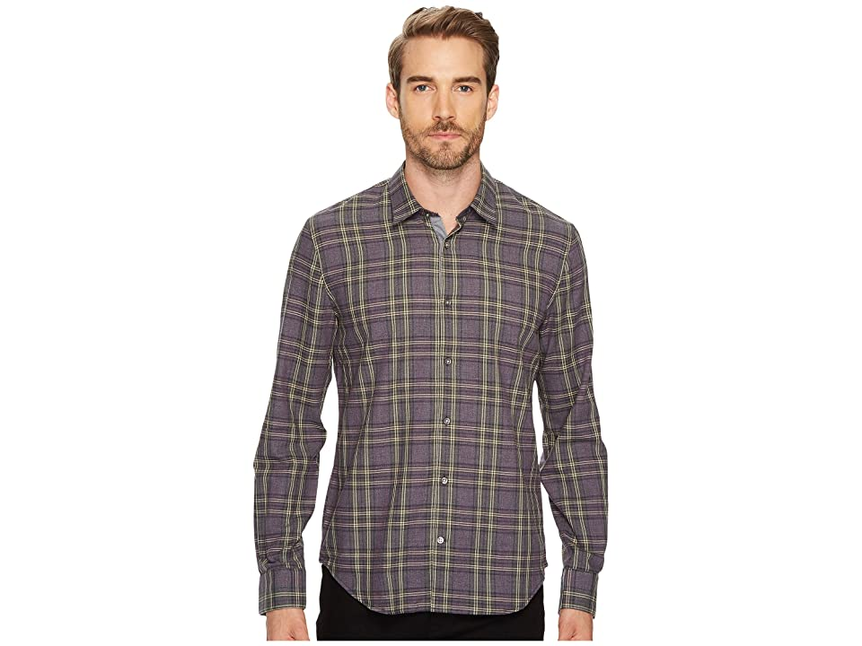 John Varvatos Star U.S.A. Slim Fit Mayfield Sport Shirt (Mulberry) Men