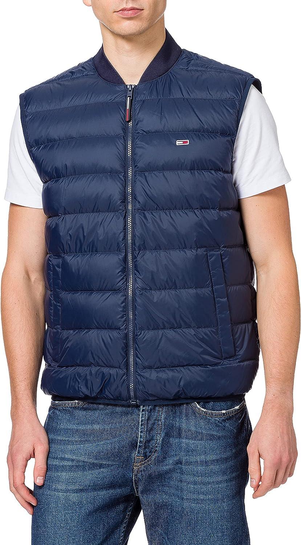 Tommy Jeans TJM Packable Light Down Vest Chaleco de Plumas para Hombre