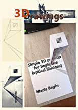 simple 3d drawings step by step