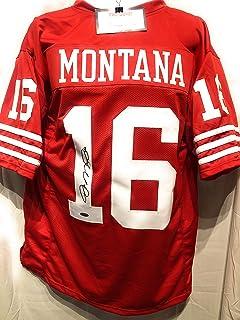 best sneakers d4bba bb111 Amazon.com: Joe Montana - Jerseys / Sports: Collectibles ...