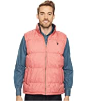 U.S. POLO ASSN. - Basic Puffer Vest with Small Pony Logo