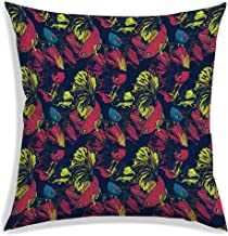 RADANYA Fish Pattern Print Polyester Cushion Cover for Modern Home décor, Bedroom-Insert not Included