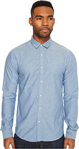 Scotch & Soda Classic Oxford Shirt in Solids or with All Over Print