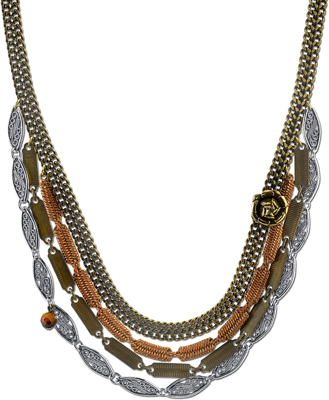 T.R.U. Mixed store Award-winning store Metal Forbidden Rose Necklace Collar