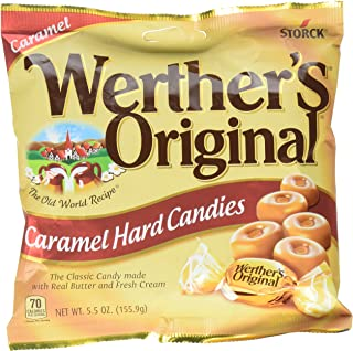 WERTHER'S ORIGINAL Hard Candies, 5.5 Ounce