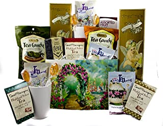Gifts Unlimited Tea Lovers Gourmet Basket Care Package Gift Box