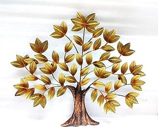 REKENSA Hand-Crafted Decorative Metal Tree Wall Art (26 x 22 inch)