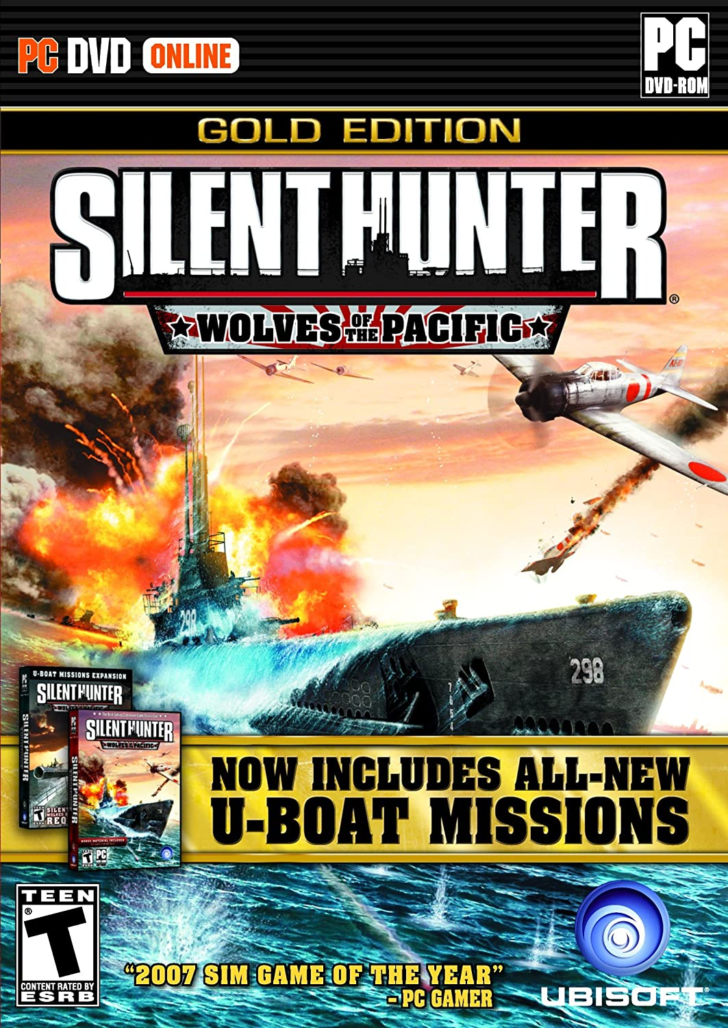 Silent Hunter: Wolves Of Denver Mall The Pacific NEW - Gold Download Edition