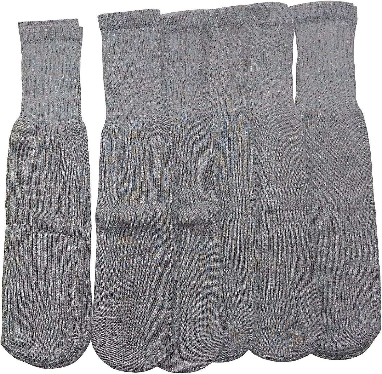 SOCKS'NBULK 6 Pairs Dedication of Children's Tube Grey Refere All stores are sold Socks Cotton