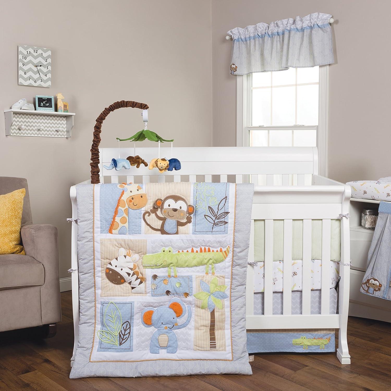 Trend Lab Jungle Fun 6Piece Crib Bedding Set