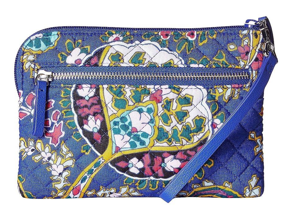 Vera Bradley Iconic Pouch Wristlet (Romantic Paisley) Wristlet Handbags