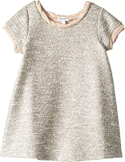 Lurex Short Sleeve Dress (Little Kids)