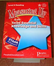 Measuring Up to the Texas Essential Knowledge and Skills Level H Reading (STAAR Texas)